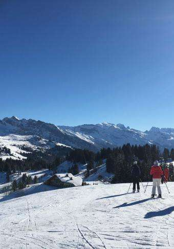 Le Soly Varnay - Vue Mont-Blanc
